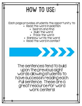 Sight Word Success!