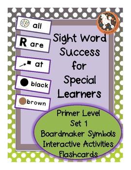 Sight Word Success PRIMER Set 1 (Dolch)