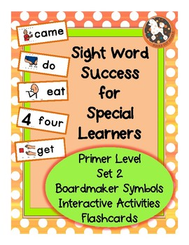 Sight Word Success PRIMER Set 2 (Dolch)