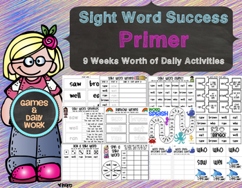 Sight Word Success Primer Edition