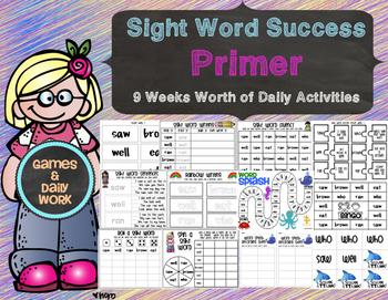 Sight Word Success Primer Edition