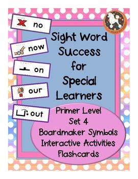 Sight Word Success PRIMER Set 4 (Dolch)