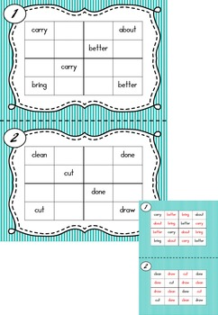 Sight Word Sudoku BUNDLE!