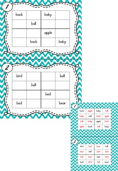Sight Word Sudoku (Dolch Word List - Nouns)