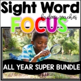 Sight Word Super Bundle