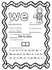 Kindergarten Sight Word Super Hero No Prep Packet