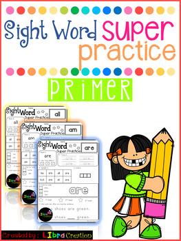 Sight Word Super Practice Primer