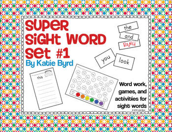 Sight Word Super Set