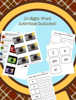Sight Word Super Sleuths: Volume 1
