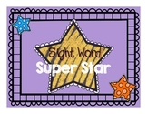 Sight Word Super Star Packet