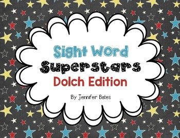 Sight Word Super Stars Dolch Edition