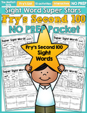 Sight Word Super Stars NO PREP (Fry's Second 100 Words)
