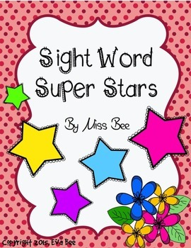 Sight Word Super Stars climb the ladder game