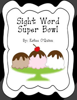 Sight Word Superbowl