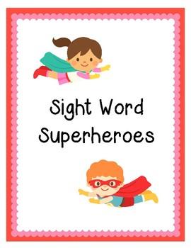 Sight Word Superhereos