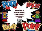 Sight Word Superhero Awards