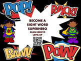 Sight Word Superhero Awards