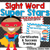 Sight Words Tracking and Achievement Certificates