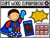 Sight Word Superheroes (200 Sight Word Flash Cards with Audio QR Codes)