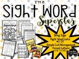 Sight Word Superstar Pack!