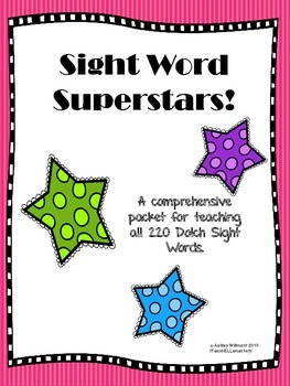 Sight Word Superstars! (220 Dolch Words)