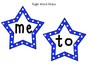 Sight Word Superstars! (Blue)