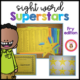 Sight Word Superstars: Building Fry List Fluency