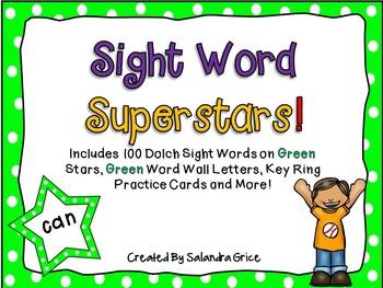 Sight Word Superstars! (Green)