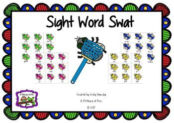 Sight Word Swat