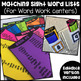 Sight Word System and Word Work Visual Direction Centers Bundle