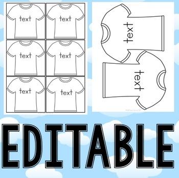 Sight Word T-Shirts Pre-Primer