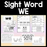 Sight Word Coloring Sheets for St. Patrick's Day {8 Pages!}