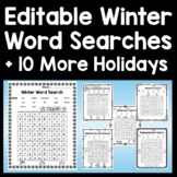 Christmas Color by Sight Word and Sight Word Coloring Pages {8 Pages!}