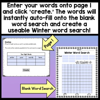 Christmas Color by Sight Word {8 Pages!} {Sight Word Coloring Sheets}