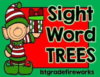 Sight Word TREES..Holiday Edition