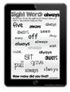 Sight Word Tablets (2nd Grade)