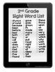 Sight Word Tablets (2nd Grade)