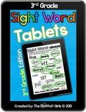 Sight Word Tablets (3rd Grade)