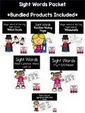 Sight Word Take Home Lists and Activities Bundle