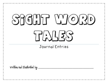 Sight Word Tales Journal!!