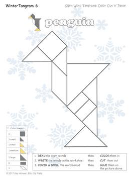 sight word tangrams summer fall winter springespeechy