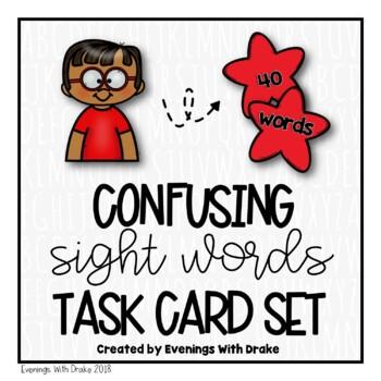 Sight Words Task Card Set
