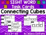 Sight Word Task Cards: Connecting Cubes Fry's 3rd 100