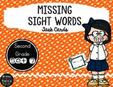 Sight Word Task Cards Second Grade