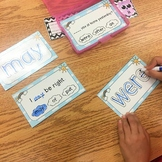 Sight Word Task Cards The BUNDLE
