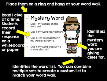 Sight Words Task Cards for Teachers - Primer