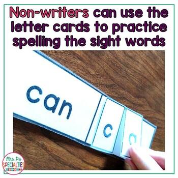 Sight Word Tasks: 2 Levels