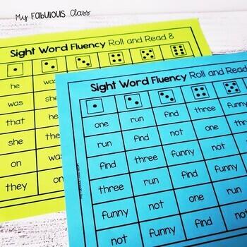 Sight Word Teach and Assess