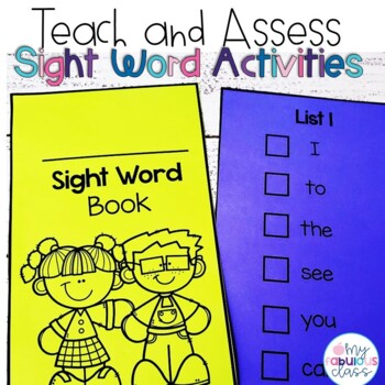 Sight Word Teach and Assess
