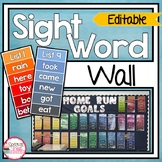 Sight Word Practice and Word Wall